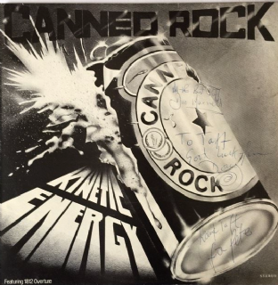 Canned Rock - Kinetic Energy (LP) (Signed) (EX/VG)